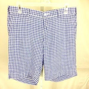 Polo Ralph Lauren Vtg Shorts Straight Fit Linen 31